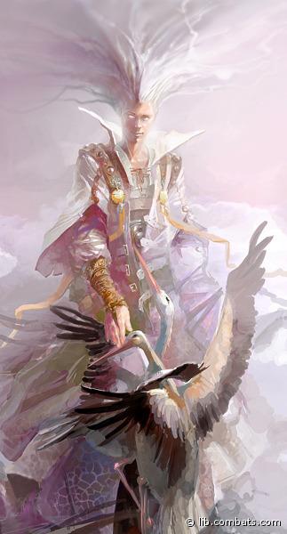 """Светлый Ангел, старающийся быть полностью во всем непогрешимым, что подчастую приводит к конфликтам с его братом Искушением, когда тому удается застать Благодать в моменты слабости. В отличие от Искушения, считает, что греховность – это не есть неотъемлемая часть любой натуры, но влияние различного рода сущностей, побуждающих к нерациональному поведению. И основной задачей любого здравомыслящего существа должно являться освобождение от власти искусителей, а ни в коем случае не вступление с ними в союз. Философия Благодати заключается в том, что совершенство – это не миф, а вполне достижимая реальность, а потому к ней следует стремиться. Совершенство должно быть во всем – поведении, манере речи, битве... Любой момент жизни должен быть тщательно проанализирован, каждое действие можно было бы сделать лучше. Быть во всем лучше всех, не подчиняться слабостям и порокам – вот девиз Благодати. Из-за таких взглядов на порядок вещей как сам Ангел, так и его последователи обычно смотрят на прочих свысока, с позиции превосходства. Иногда действительно имеют на это право – в каких-то ситуациях они действительно были или есть лучше всех остальных. Это укрепляет веру в правильности выбранного пути и дает силы двигаться дальше. С последователями Благодати редко общаются прочие люди – отчасти потому, что блекло выглядят на их фоне, отчасти – считая их маниакальное стремление к идеальности ненормальным. Противостояние с Тьмой Благодать рассматривает лишь как еще один шанс отличиться, быть лучше ненавистных Темных, поэтому последователи его рвутся в бой с неудержимой яростью. Учитывая скурпулезную подготовку и постоянно улучшаемый навык, обычно они и одерживают победу. Сфера ответственности Благодати: фауна мира (животные, птицы, рыбы) """"Если в человеке есть хоть один недостаток, хотя бы тень недостатка – он недостоин того, чтобы иметь с ним какие-либо дела. Цель любого здравомыслящего создания – стремление к абсолютной безупречности во всем, полному контролю всех своих низменных желан"""