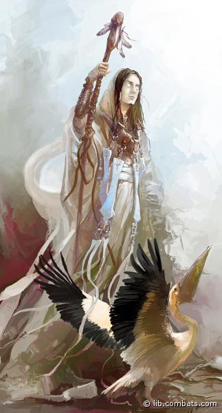 Ангел-проповедник, считающий, что великая благость – дарить другим людям добро, даже если для этого придется пожертвовать своими интересами. В отличие от других светлых Ангелов, не ставит целью получение личной выгоды. Высоко ценит мораль и порядочность, если они искренни и идут от чистого сердца. Не любим темными Ангелами за полное отсутствие слабостей, на которых можно было бы сыграть. За свои убеждения был ослеплен и низвергнут, однако спустя некоторое время непонятным образом вернулся в полной силе, не став никому мстить,, чем сильно удивил всех своих собратьев. Немного поразмыслив, те пришли к решению оставить в покое странного проповедника, избрав привычный для себя путь скрытого противостояния вместо открытого конфликта.. Путь Милосердия – это путь лекаря, помощника и наставника. Любой человек, если он попал в беду – достоин того, чтобы помочь ему, а уж какого цвета его убеждения – не так важно. Так, в отличие от прочих Светлых, в помощи своей Милосердие не делает разницы между теми, кому помогает. Своих последователей Милосердие не ценит, что странно - сложно найти людей, разделяющих такие альтруистические взгляды на жизнь. Терпеть не может ослушания, если войти к нему в немилость, сложно будет потом вернуть его доверие, не признает никаких сторонних мнений, деспот: «Если не вылечишь вон того калеку – собственноручно тебя придушу». Смотрит на людей как на детей маленьких, которые в своих нелепых войнушках калечат друг друга, себя же считает чем-то вроде воспитателя рода человеческого, призванного вести за собой «стадо неразумное». Порой заходит в своих убеждениях слишком далеко, заставляя своих помогать даже приспешникам сил Хаоса, как и всем остальным, несмотря на то, что обычно те, только оправившись от болезней, незамедлительно нападают на исцеливших их лекарей. Сфера ответственности Милосердия: врачевание. «Самопожертвование – вот то единственное, наличие или отсутствие способности к чему отличает разных людей. Многие зрячие не видят того, что открыто сл